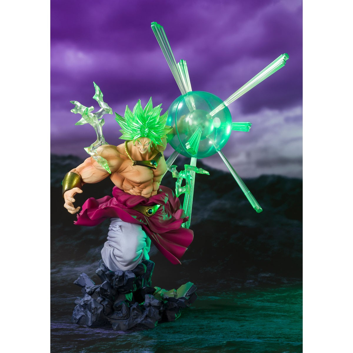 Bandai Figuarts Zero Dragon Ball Z Broly The Legendary Super Saiyan Event Exclus